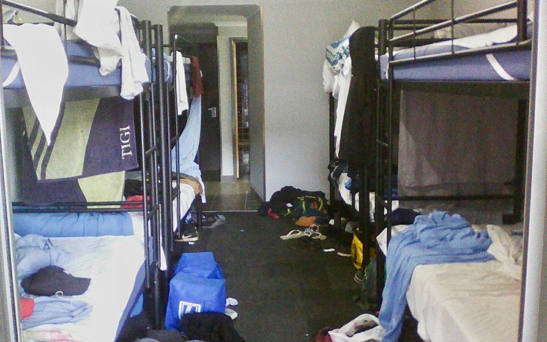 Sex k tomu postel zdarma to je Backpacker