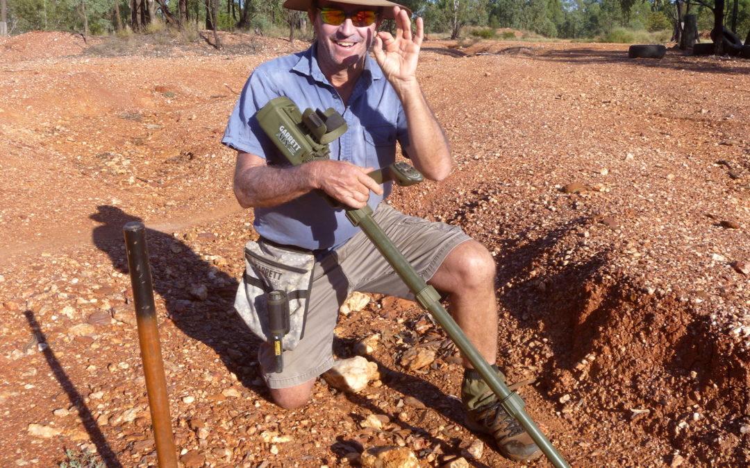 Austrálie práce, Pavel se živí jako zlatokop