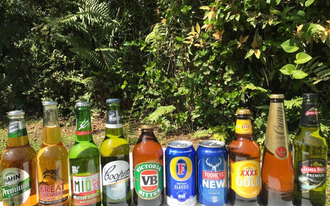 Kdo má lepší pivo Australané nebo Češi?